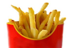 Pommes frittes: Gut für Herzattacken